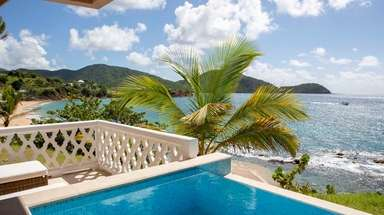 Curtain Bluff is a family-owned resort in Antigua