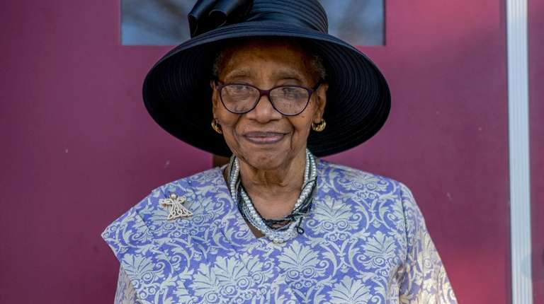 Mary Franklin, 82, joined New Jerusalem Baptist Church
