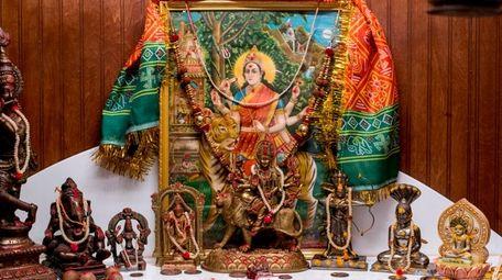 Tejas Nanavati's sacred space in Huntington Station includes