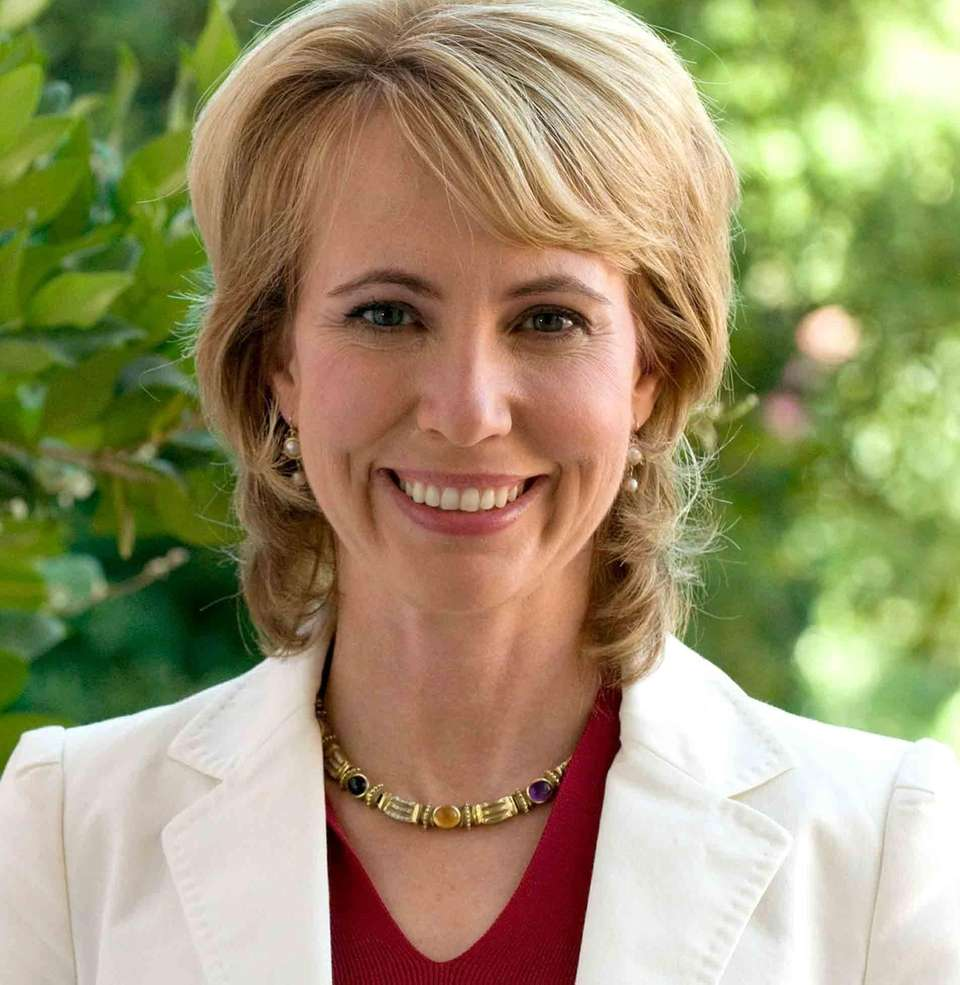 Rep. Gabrielle Giffords was shot in the head