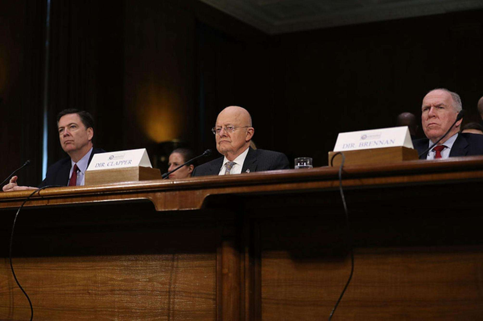 Comey testifies to Senate committee