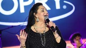 Crystal Gayle performs during CRS 2017 Day 1