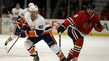 Michael Grabner of the New York Islanders and