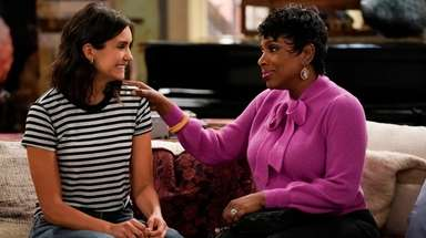Nina Dobrev, left, and Sheryl Lee Ralph in
