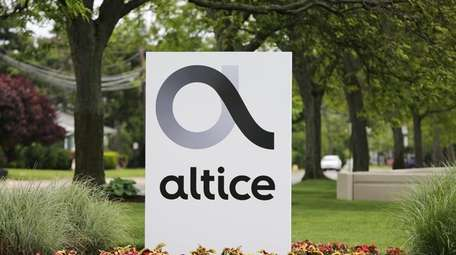 Altice USA in Bethpage.