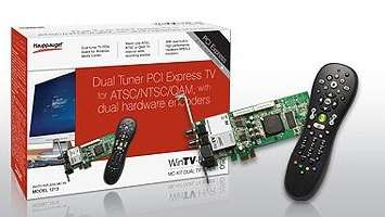 Dual television tuner from Hauppauge Digital
