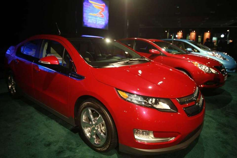 The Chevrolet Volt won the North American car