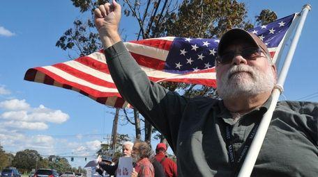 Burton Koza, seen on Oct. 15, 2011, at