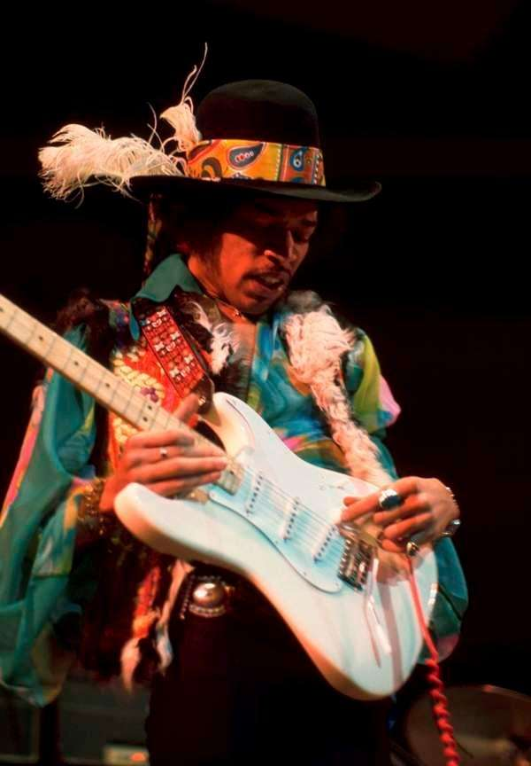 Jimi Hendrix (Nov. 27, 1942 - Sept. 18,