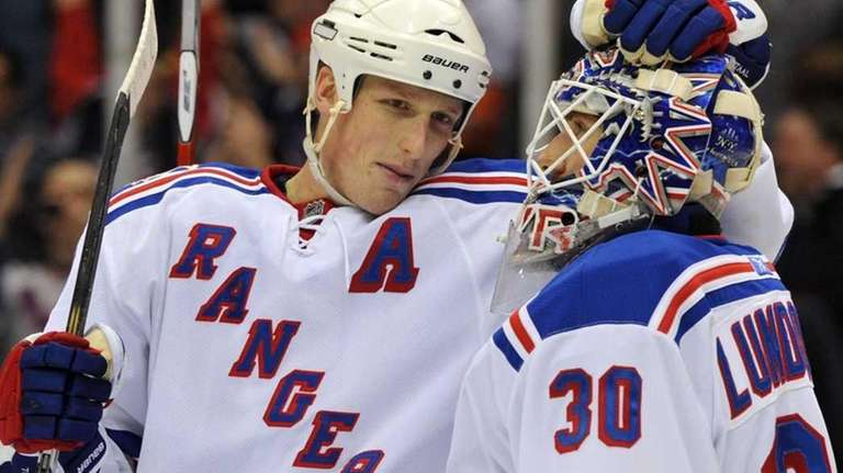 Rangers defenseman Marc Staal in an undated file