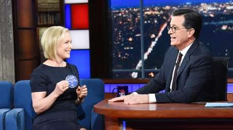 The Late Show with Stephen Colbert and guest