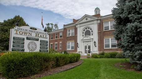 North Hempstead Town Hall pictured on Oct. 14.