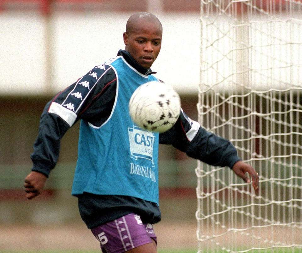 Phil Masinga, the former South Africa and Leeds