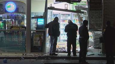 Officials at the Sunoco store on Brentwood Road