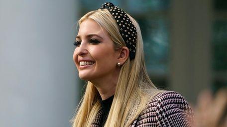 Ivanka Trump, the daughter of President Donald Trump,