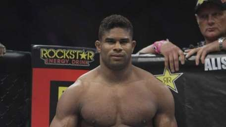 Alistair Overeem before his fight with Brett