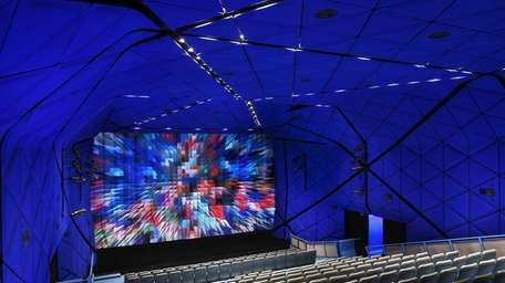 The new 267-seat theater at the Museum of