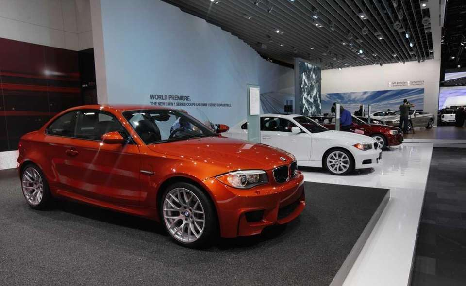 The BMW Series M Coupe, left, is shown