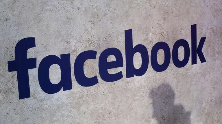 A Facebook logo displayed in a start-up companies