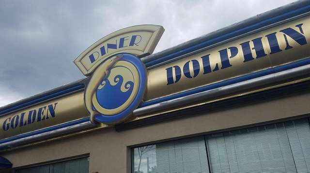 The Golden Dolphin Diner in Huntington is closed