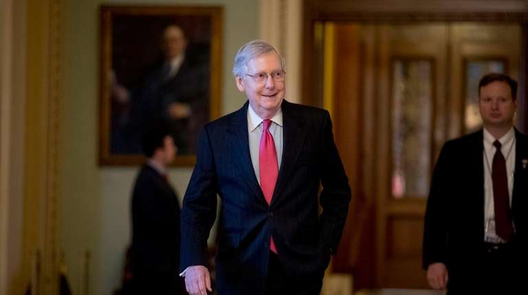 Senate Majority Leader Mitch McConnell (R-Ky.) on his