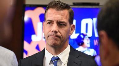 General manager Brodie Van Wagenen issued a challenge
