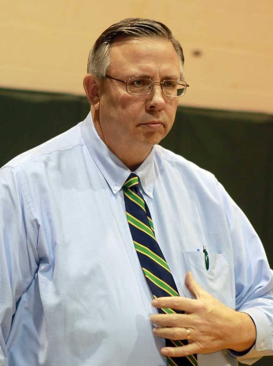 William Floyd boys varsity head coach Bob Hodgson.