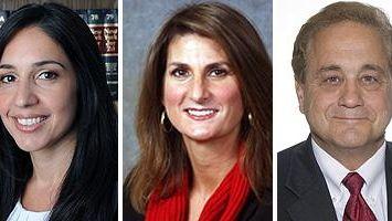 Andrea Tsoukalas, Nicole Norris Poole, Robert Nigro