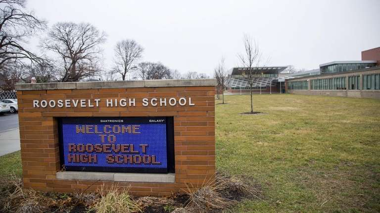 Roosevelt High School, as seen on Jan. 8.