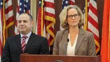 On Thursday, Nassau County executive Laura Curran said