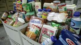 Island Harvest, a food bank in Hauppauge, on