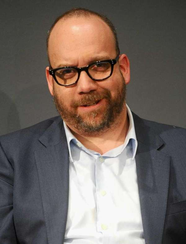 Actor Paul Giamatti visits the Apple Store SoHo