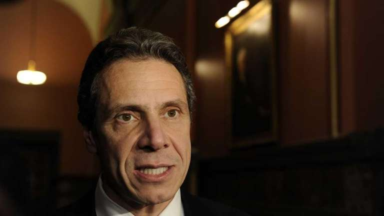 New York Governor Andrew Cuomo. (Jan 10, 2011)