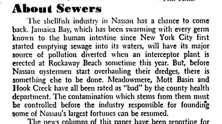 A 1945 Newsday editorial.