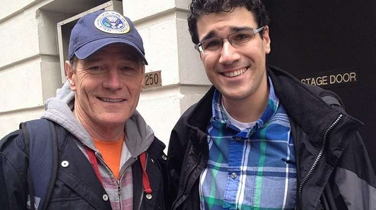 fcebe1aaff6 Brian Stoll with actor Bryan Cranston at the