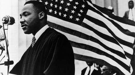 The Rev. Martin Luther King Jr. preached, among