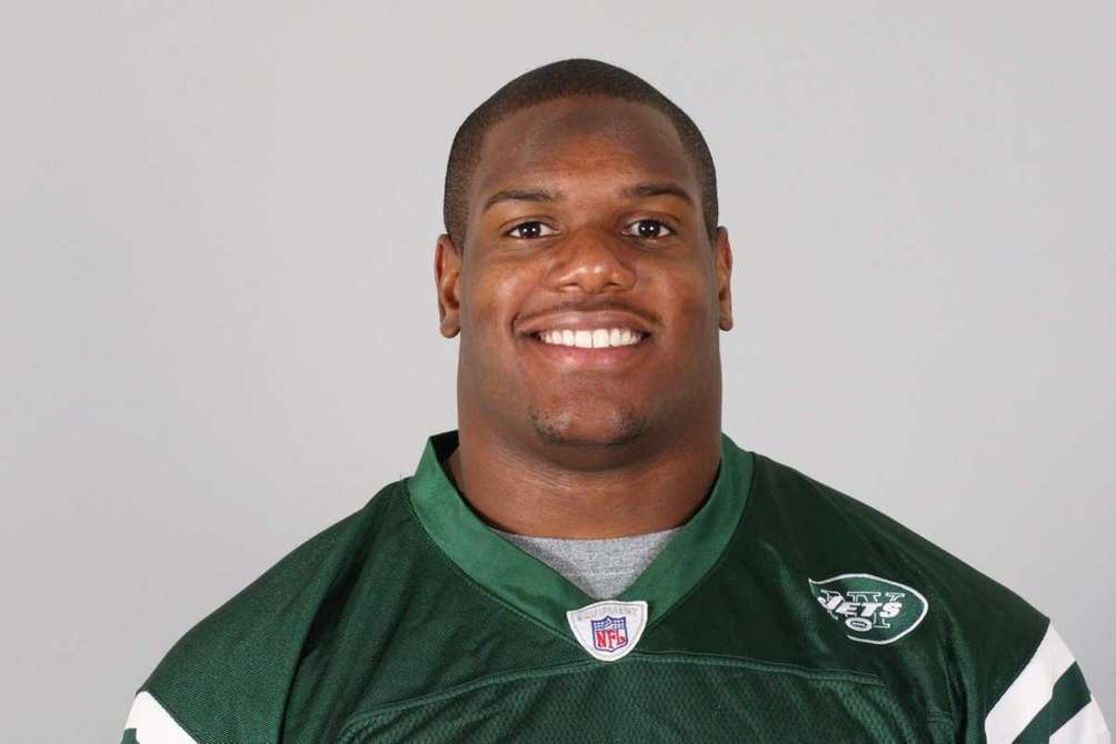 D'Brickashaw Ferguson of the New York Jets attended