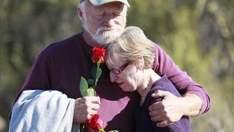 Nicholas Darochkin and Ann Marie Kilargis of Tucson,