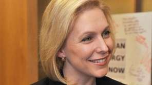 NY Sen. Kirsten Gillibrand talks about her visit