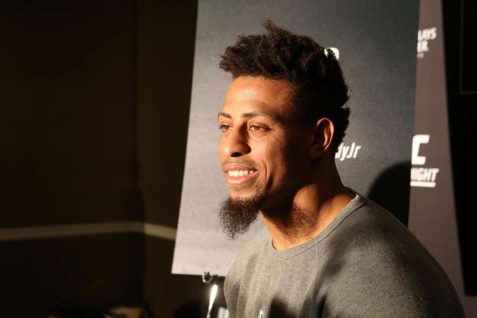 Heavyweight fighter Greg Hardy, a former Pro Bowl
