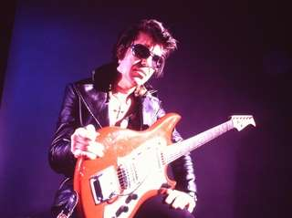 Rock guitar legend Link Wray, one of the