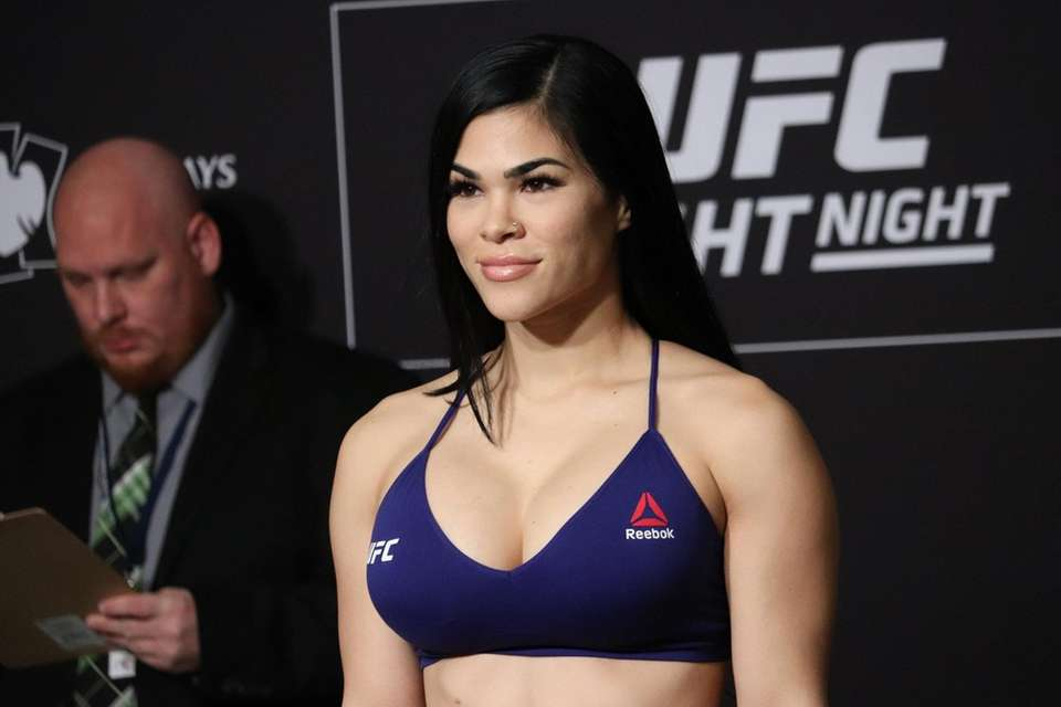 Rachael Ostovich weighs in ahead of UFC Brooklyn