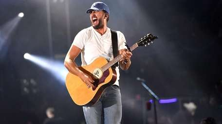 "Luke Bryan performs during the ""What Makes You"