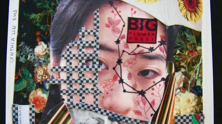 Southampton High School student Cynthia Lin's mixed media