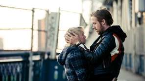 Michelle Williams, left, and Ryan Gosling are shown