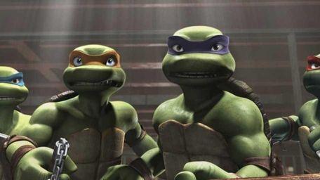 Leonardo, Michelangelo, Donatello and Raphael from Warner Bros.