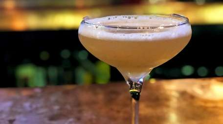 A gin-bard bee's knees cocktail at Elsie Lane,