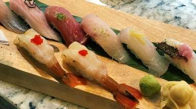 Tiga, serving modern sushi and Asian fusion, has