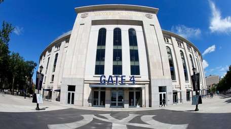 A tour of Yankee stadium in the Bronx