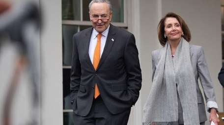 Speaker of the House Nancy Pelosi and Senate